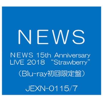 ソニーミュージックNEWS 15th Anniversary LIVE 2018 「Strawberry」 [初回生産限定盤]【Blu-ray】JEXN-0115/7