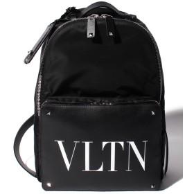 【37%OFF】 ヴァレンティノ ガラヴァーニ VLTN バックパック ユニセックス BLACK F 【Valentino Garavani】 【タイムセール開催中】