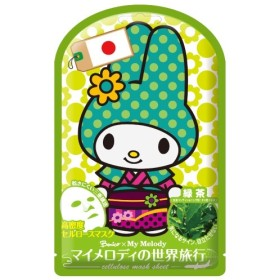 ベニコ マイメロディ 世界旅行マスクシート(日本) 1枚入【5400円以上で送料無料】