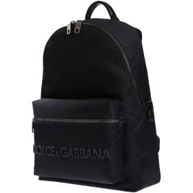 《セール開催中》DOLCE & GABBANA メンズ バックパック&ヒップバッグ ブラック ナイロン 68% / 牛革(カーフ) 20% / ナイロン 12%