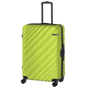カバンのセレクション エース オーバル スーツケース Lサイズ 軽量 拡張 90L/111L 受託手荷物規定内 ダイヤルロック ACE 06423 ユニセックス グリーン系1 フリー 【Bag & Luggage SELECTION】