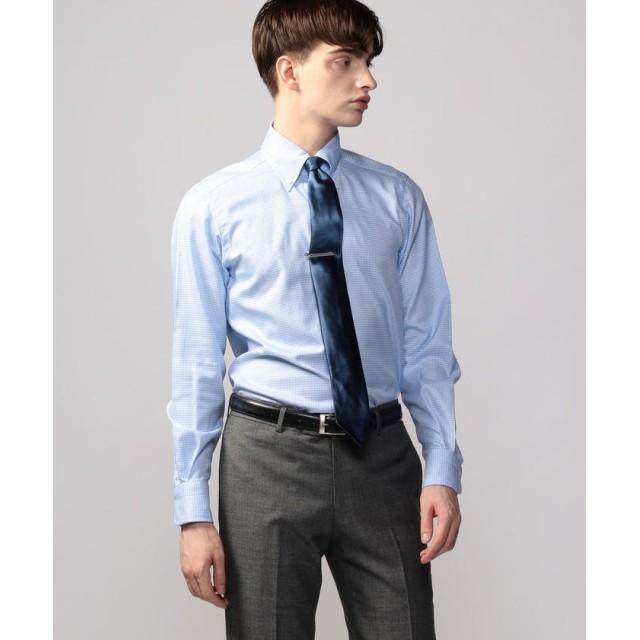 トゥモローランド 120/2コットンツイル ボタンダウン ドレスシャツ NEW BD 4 メンズ 64ライトブルー系 42 【TOMORROWLAND】