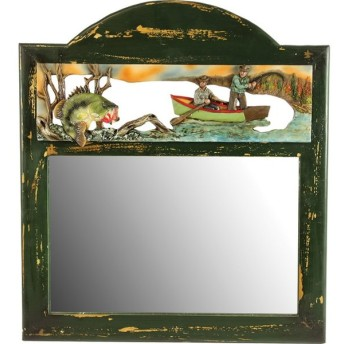 ディスプレイ リバースエッジ Bass Fishing Mirror(バスフィッシングミラー) #963