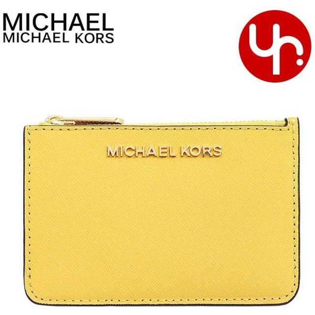 マイケルコース MICHAEL KORS 財布 コインケース 35F7GTVU1L ダスティデイジー ジェット セット トラベル レザー ID キーリング アウトレット レディース