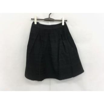 トゥービーシック TO BE CHIC スカート サイズ38 M レディース 黒 リボン【中古】20190721
