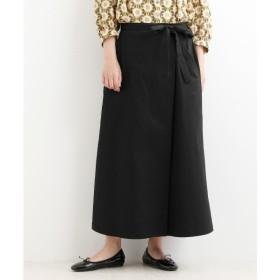 [マルイ] 【こだわりデザインのスカート見えキュロット】assort ラップキュロット/ニーム(NIMES)