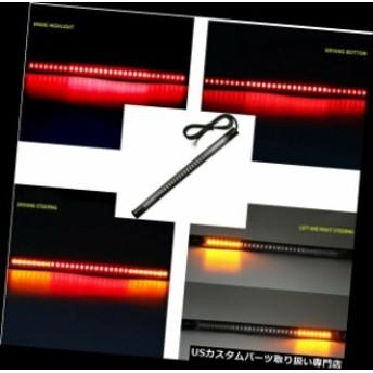 USテールライト 48 LEDライトオートバイストリップターンシグナルテールブレーキストップ防水電球ランプ 48 LED Light Motorcycle Strip