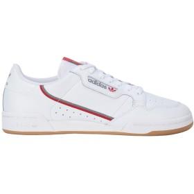 《期間限定セール開催中!》ADIDAS ORIGINALS メンズ スニーカー&テニスシューズ(ローカット) ホワイト 6 革 / 紡績繊維 CONTINENTAL 80