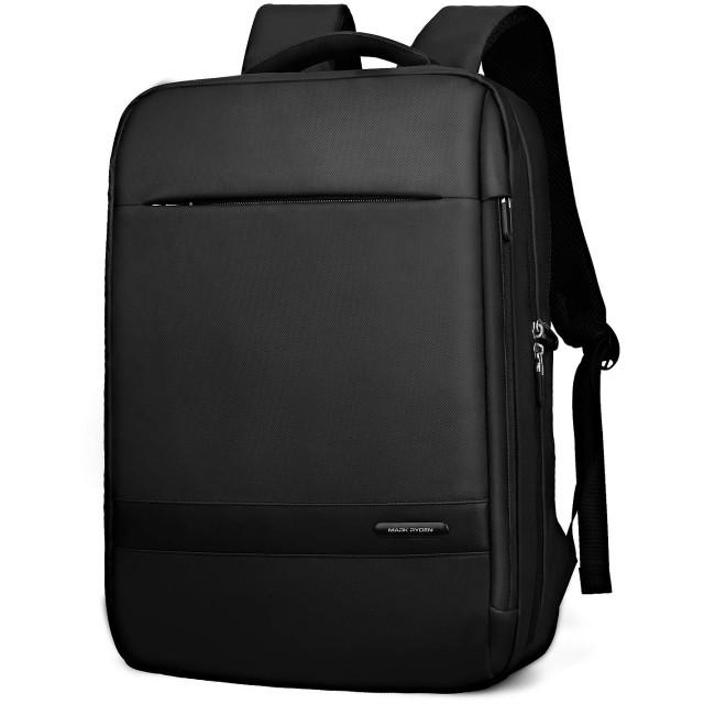 MARK RYDEN バックパック 防水ビジネスリュック メンズ用 30L大容量 盗難防止ラップトップバッグ 15.6インチパソコン対応 黒 (Aタイプ)
