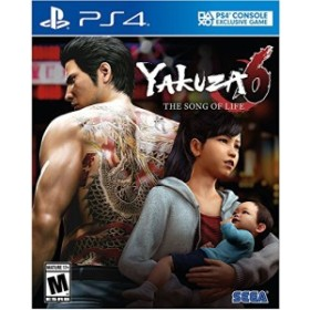 Yakuza 6: The Song Of Life: Standard Edition (輸入版:北米) - PS4