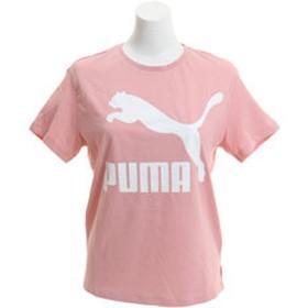 【Super Sports XEBIO & mall店:トップス】CLASSICS ロゴ 半袖Tシャツ 595958 14 PNK