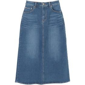 【6,000円(税込)以上のお買物で全国送料無料。】デニムマキシスカート