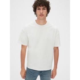 Gap 厚手ボクシークルーネックTシャツ