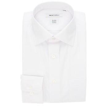 【THE SUIT COMPANY:トップス】【SUPER EASY CARE】ワイドカラードレスシャツ 無地 〔EC・FIT〕