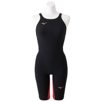 MIZUNO SHOP [ミズノ公式オンラインショップ] 競泳用MX・SONIC G3 ハーフスーツ[ジュニア] 96 ブラック×レッド N2MG8912