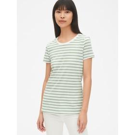 Gap ビンテージストライプ半袖クルーネックTシャツ