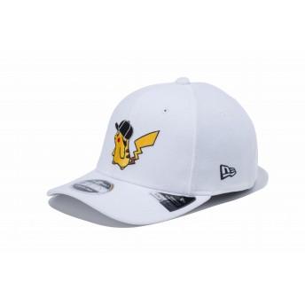 NEW ERA ニューエラ ゴルフ 9FIFTY ストレッチスナップ ポケモン ピカチュウ キャップ ホワイト × オフィシャルカラー スナップバックキャップ アジャスタブル サイズ調整可能 ベースボールキャップ キャップ 帽子 メンズ レディース 56.8 - 60.6cm 12110738 NEWERA