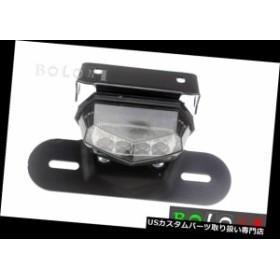USテールライト ハーレーホンダのナンバープレートライト+ホルダー付きオートバイLEDブレーキテールライト  Motorcycle LED Brake Tail L