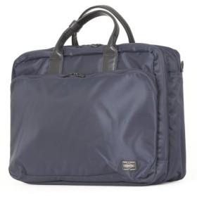 (Bag & Luggage SELECTION/カバンのセレクション)吉田カバン ポーター タイム ビジネスバッグ 3WAY メンズ ビジネスリュック B4 PORTER 655-06166/ユニセックス ネイビー