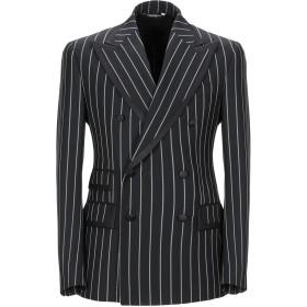《期間限定 セール開催中》DOLCE & GABBANA メンズ テーラードジャケット ブラック 48 バージンウール 89% / シルク 8% / ポリウレタン 2% / ポリエステル 1%