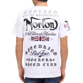[ノートン] Norton Tシャツ ユニオンジャック MAX TEE 192N1001 ホワイト XL