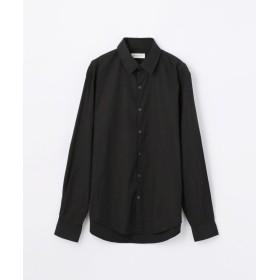 【50%OFF】 トゥモローランド コンパクトポプリン レギュラーカラーシャツ メンズ ネイビー M 【TOMORROWLAND】 【セール開催中】