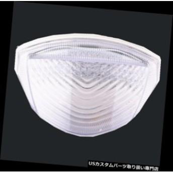 USテールライト スズキGSXR600 / 750 K4 2004-2005 LEDブレーキターンシグナルリアテールライトクリアフィット Fit Suzuki GSXR600/750