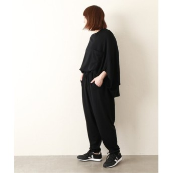 journal standard luxe 【COG THE BIG SMOKE】 WING BACK JUMPSUIT◆ ブラック 1