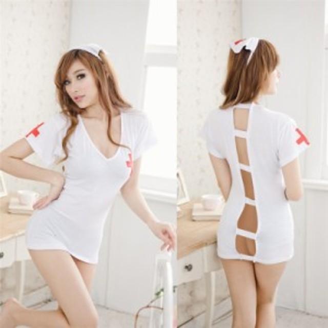 ナース服 コスプレ コスチューム 看護婦 衣装 白衣の天使