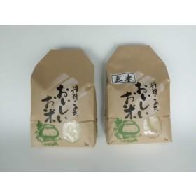 旧笹神村産コシヒカリ白米3kg+玄米3kg 定期5回コース