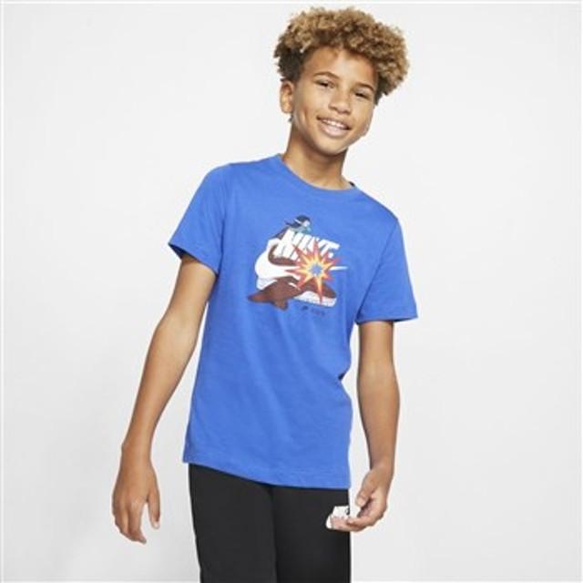 キッズ 【NIKE ウェア】 ナイキウェア K DISTORTED アイコン Tシャツ CI9615-480 480 GAMERL/WHT 140