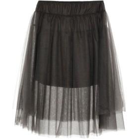 《9/20まで! 限定セール開催中》TWINSET レディース 7分丈スカート 鉛色 48 100% ナイロン