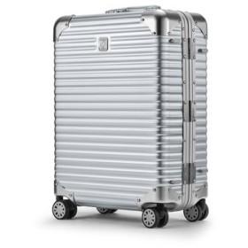 (Bag & Luggage SELECTION/カバンのセレクション)ランツォ スーツケース 機内持ち込み LANZZO NORMAN 34L Sサイズ ノーマン アルミフレーム アルミボディ/ユニセックス シルバー