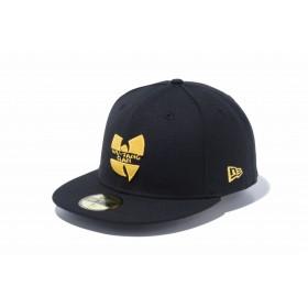 NEW ERA ニューエラ 59FIFTY WU-TANG CLAN ウータン・クラン ロゴ ブラック ベースボールキャップ キャップ 帽子 メンズ レディース 7 3/8 (58.7cm) 12110815 NEWERA