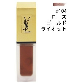 イヴサンローラン YVES SAINT LAURENT タトワージュ クチュール ザ メタリックス #104 ローズゴールド ライオット 6ml 化粧品 コスメ
