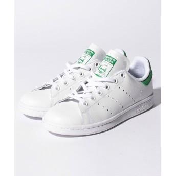 【31%OFF】 アディダス STAN SMITH J ユニセックス ホワイト×グリーン 23cm 【Adidas】 【タイムセール開催中】