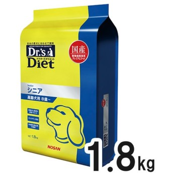 【最大1800円OFFクーポン】ドクターズダイエット 犬用 シニア 1.8kg