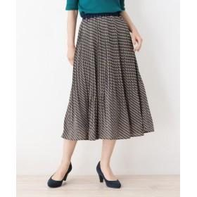 DRESKIP レスキップ 柄アソートプリーツスカート