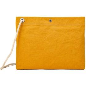 カバンのセレクション ツールズ サコッシュ 帆布 TOOLS 49t188h パラフィンウォッシュ ロープサコッシュ メンズ レディース ユニセックス イエロー フリー 【Bag & Luggage SELECTION】