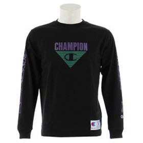 【Super Sports XEBIO & mall店:トップス】MCMXIX ロゴ長袖Tシャツ C3-Q408 090