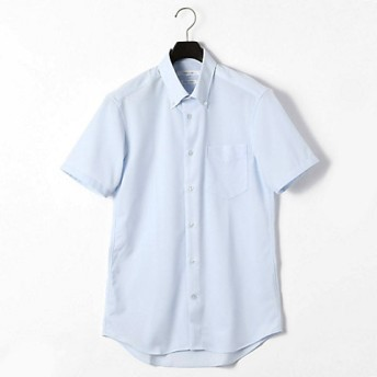 <COMME CA MEN > コンフィールトリコット ドレス半袖シャツ(0708HL12) サックス【三越・伊勢丹/公式】