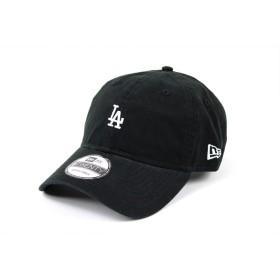 NEW ERA (ニューエラ) ローキャップ ミニロゴ MLB 9TWENTY ロサンゼルス ドジャース LOS ANGELES DODGERS BLACK/WHITE