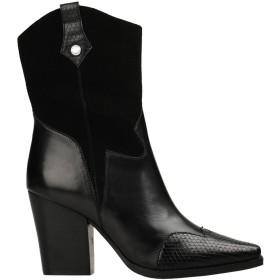 《セール開催中》STEVE MADDEN レディース ショートブーツ ブラック 6 革 / 合成繊維 EZZY BOOT