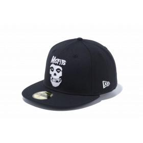 NEW ERA ニューエラ 59FIFTY MISFITS ミスフィッツ ロゴ ブラック ベースボールキャップ キャップ 帽子 メンズ レディース 7 (55.8cm) 12110816 NEWERA
