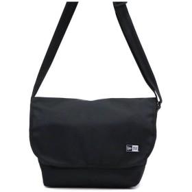 ギャレリア ニューエラ NEW ERA ショルダーバッグ PRINT LOGO SHOULDER BAG メッセンジャーバッグ 9L ユニセックス ブラック F 【GALLERIA】