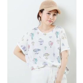 【フレームス レイカズン/frames RAY CASSIN】 気球ドルマンTシャツ