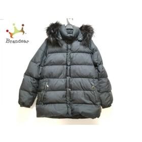 モンクレール MONCLER ダウンジャケット サイズ1 S メンズ - 黒 ファー/冬物  値下げ 20191010