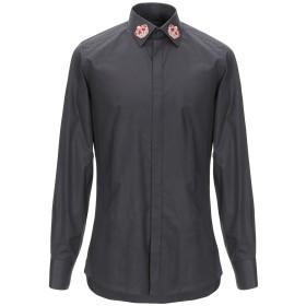 《期間限定セール開催中!》DOLCE & GABBANA メンズ シャツ ブラック 38 コットン 100% / レーヨン / 金属繊維 / ナイロン