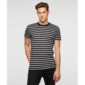 [マルイ] ボーダーラウンドネック半袖Tシャツ・カットソー/シスレー メンズ(SISLEY)