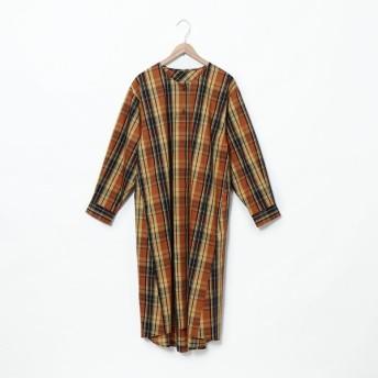 [マルイ] チェックピケワンピース/コーエン(レディース)(coen)